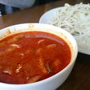 【麺1.5玉分】『ファイヤー頂まぜそば(ファイヤー頂溶き卵つけ麺)チャーシュー入』