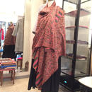 【カシミール】Kani織りフラワーペイズリーカシミアストール