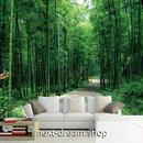 3D 壁紙 1ピース 1㎡ 自然風景 竹林 並木道 和テイスト インテリア 装飾 寝室 リビング h02258