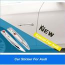 アウディ ステッカー 2個入 Sline エンブレム サイド Audi A3 A4 A4L A5 A6 A6L A7 A8 Q3 Q5 S 3 4 5 6 7 8 TT TTS h00362