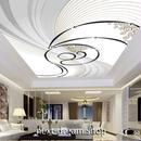 3D 壁紙 1ピース 1㎡ 螺旋 ストライプ アート 天井用 インテリア 装飾 寝室 リビング 耐水 防湿 h02637