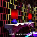 3D 壁紙 53×1000㎝ エレクトロ 派手 赤×黄 PVC 防水 カビ対策 おしゃれクロス インテリア 装飾 寝室 リビング h01876