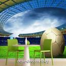 3D 壁紙 1ピース 1㎡ スポーツスタジアム ボール  DIY リフォーム インテリア 部屋 寝室 防湿 防音 h03111