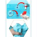 折畳み浴槽 ビニール製 ダブルサイズ 大人用 65*70cm 00319