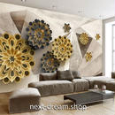 3D 壁紙 1ピース 1㎡ 立体アート 幾何学模様 モダン インテリア 部屋 寝室 リビング 防湿 防音 h03053