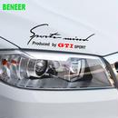 ワーゲン ステッカー デカール ボディ ヘッドライト Volkswagen GTI 00501