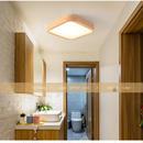 木製 LEDシーリングライト 正方形 5~8㎡ 調光 リモコン★サイズ違いあり★インテリア照明 天井照明 北欧 ナチュラル 和風 ライト m00009