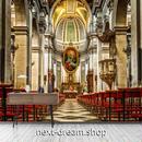 3D 壁紙 1ピース 1㎡ 教会 聖堂 レトロ ヨーロッパ風インテリア 部屋装飾 耐水 防湿 防音 h02885