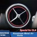ベンツ カーインテリア 内装 エアコン 吹き出し口 カバー 5点セット アルミニウム合金 Mercedes-Benz h00546