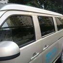 スモークフィルム 反射 断熱 窓 ステッカー サイドウィンドウ ソーラープロテクト グリーン h00173