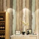 3D 壁紙 53×1000㎝ 木目 ウッドボード DIY 不織布 カビ対策 防湿 防水 吸音 インテリア 寝室 リビング h02105