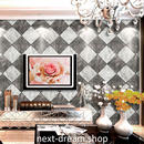 3D 壁紙 53×1000㎝ ダイヤモンド型 大理石 PVC 防水 カビ対策 おしゃれクロス インテリア 装飾 寝室 リビング h01874