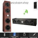 新品送料込  ポータブルスピーカー Bluetooth ワイヤレス 木製 低音 20W  おしゃれ 音楽 ホームシアター キャンプ パーティ 贈り物に◎ m00740