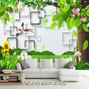 3D 壁紙 1ピース 1㎡ さくらんぼの木 公園 モダン インテリア 装飾 寝室 リビング 耐水 防湿 h02596