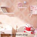 3D 壁紙 50×1000㎝ 女の子用 バレエ プリンセス 防カビ 耐水 おしゃれ クロス インテリア 装飾 寝室 リビング h01781