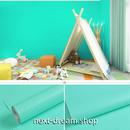 壁紙 45×1000cm 無地 エメラルドグリーン 緑 DIY リフォーム インテリア リビング・子供部屋・家具にも 防湿 防音 h03683