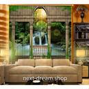 3D 遮光カーテン 203×213cm サイズ多数◎ 自然風景 森林 岩場 滝 DIY おしゃれ 模様替 寝室 リビング 子供部屋 オフィス 店舗用  m01703