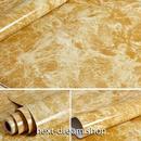 壁紙 60×300cm 大理石 マーブル模様 黄土色 DIY リフォーム インテリア 部屋/キッチン/家具にも 防水ビニール h03890