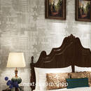 3D 壁紙 53×1000㎝ レトロ 星 コンパス DIY 不織布 カビ対策 防湿 防水 吸音 インテリア 寝室 リビング h02022