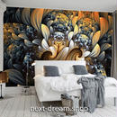 3D 壁紙 1ピース 1㎡ ウォールアート モダン DIY リフォーム インテリア 部屋 寝室 防湿 防音 h03134
