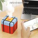 加湿器 空気清浄機 USB キューブ型 赤  乾燥・肌荒れ・風邪・花粉症予防  オフィス インテリア  m01335