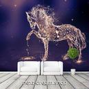 3D 壁紙 1ピース 1㎡ 水滴 アート 馬の形 DIY リフォーム インテリア 部屋 寝室 防湿 防音 h03263