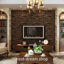 3D 壁紙 53×1000㎝ レトロ 赤レンガ ヨーロッパ PVC 防水 カビ対策 おしゃれクロス インテリア 装飾 寝室 リビング h01861