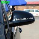 ワーゲン 2個入 ステッカー シール Volkswagen ドアミラー Rline ロゴ h00519
