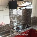 壁紙 53cm×500cm タイル模様 PVC DIY リフォーム インテリア 浴室 部屋 寝室 キッチン 防湿 防音 h03644