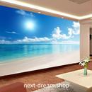 3D 壁紙 1ピース 1㎡ 自然風景 海 ビーチ 防カビ 耐水 インテリア 装飾 寝室 リビング h02139
