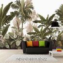 3D 壁紙 1ピース 1㎡ ヨーロッパモダン ジャングル バナナの葉 インテリア 部屋装飾 耐水 防湿 防音 h02898