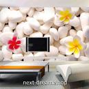 3D 壁紙 1ピース 1㎡ 北欧モダン 白い石 プルメリア DIY リフォーム インテリア 部屋 寝室 防湿 防音 h03151