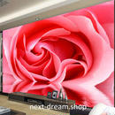3D 壁紙 1ピース 1㎡ 花 一面ローズ ピンク薔薇 インテリア 装飾 寝室 リビング h02231