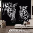 3D 壁紙 1ピース 1㎡ 動物フォト レトロヴィンテージ しまうま インテリア 装飾 寝室 リビング 耐水 防湿 h02500