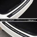 BMW 車 ステッカー リアバンパー ガード カーボン調 スタイリング トランクカバー ビニールデカール e46 e90 f30 f10 f01 f20 h00030