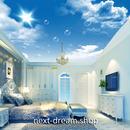 3D 壁紙 1ピース 1㎡ 青空 シャボン玉 タンポポの綿毛 天井用 インテリア 装飾 寝室 リビング 耐水 防湿 h02638