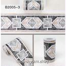 壁紙 10×1000cm 大理石風 幾何学模様 黒 DIY リフォーム インテリア キッチン/浴室/家具にも 防水PVC h04232