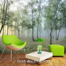 3D 壁紙 1ピース 1㎡ 自然風景 森林の景色 霧 インテリア 装飾 寝室 リビング h02322