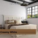 3D壁紙 70×15cm レンガ模様 ホワイト 白 DIY リフォーム インテリア 部屋/リビング/家具にも 防水ポリエチレン 防音 h04283