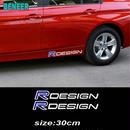 ボルボ  ステッカー サイドボディ 2個入 R DESIGN ロゴ Volvo h00576