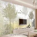 3D 壁紙 1ピース 1㎡ 北欧モダン 絵画 森林 DIY リフォーム インテリア 部屋 寝室 防湿 防音 h03148