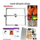 レーザー彫刻機 65x50cm  加工機  100-5500メガワット  DIY  ミニレーザー 新品送料込 m00226