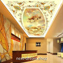 3D 壁紙 1ピース 1㎡ ヨーロッパレトロ 油絵 天使 天井用 インテリア 装飾 寝室 リビング 耐水 防湿 h02690