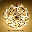ペンダントライト 照明×24 LED ゴールドボディ 球状 調光可能 ダイニング リビング キッチン 寝室 北欧モダン h01603