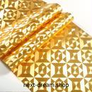 3D 壁紙 53×1000㎝ ゴールド 金箔 キラキラ PVC 防水 カビ対策 おしゃれクロス インテリア 装飾 寝室 リビング h01837
