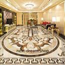 3D 壁紙 1ピース 1㎡ ヨーロッパスタイル 防カビ 耐水 おしゃれクロス インテリア 装飾 床用 フロア 寝室 h01814