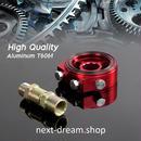 サンドイッチアダプター プレートキット レーシングスポーツ JDM アルミニウムオイル ゲージフィルター 送料込 h01404