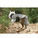 犬用 アジャスタブルジャケット 暖かいネックデザイン レインコート ジャケットペット アウトドア 猟犬 00295