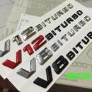 ベンツ ステッカー ボディ サイド Mercedes benz V8 V12 BITURBO h00532