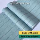 壁紙 60×300cm ウッドボード 木板 青 ブルー DIY リフォーム インテリア 部屋/キッチン/家具にも 防水PVC h04053
